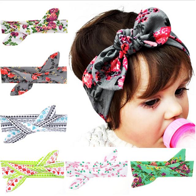 Diy свободный размер ребенка цветок повязка на голову малыша мягкие девушка дети ...