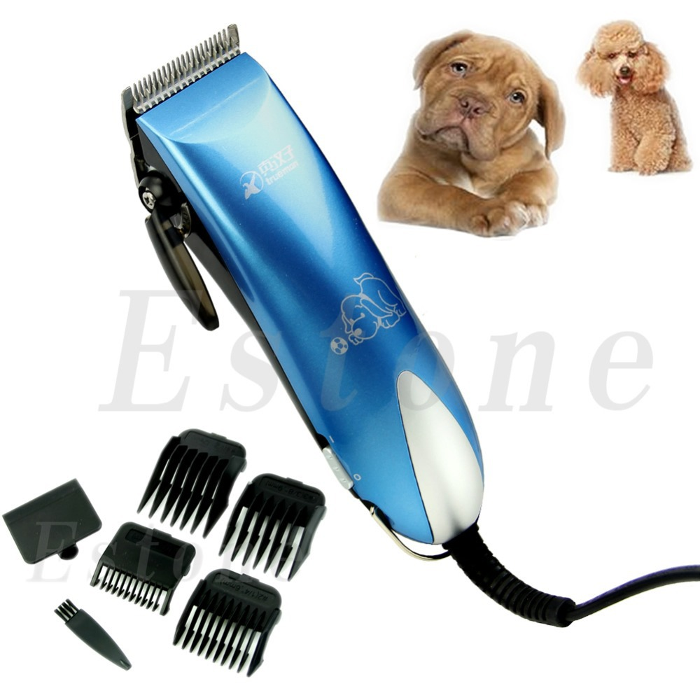 Newest Low-noise Electric Animal Pet Dog Cat Hair Razor Grooming Clipper Trimmer(China (Mainland))