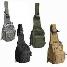 Outdoor Crossbody Shoulder Bag Nylon Military Haversack Tactical Men's Casual Bag B2C Shop