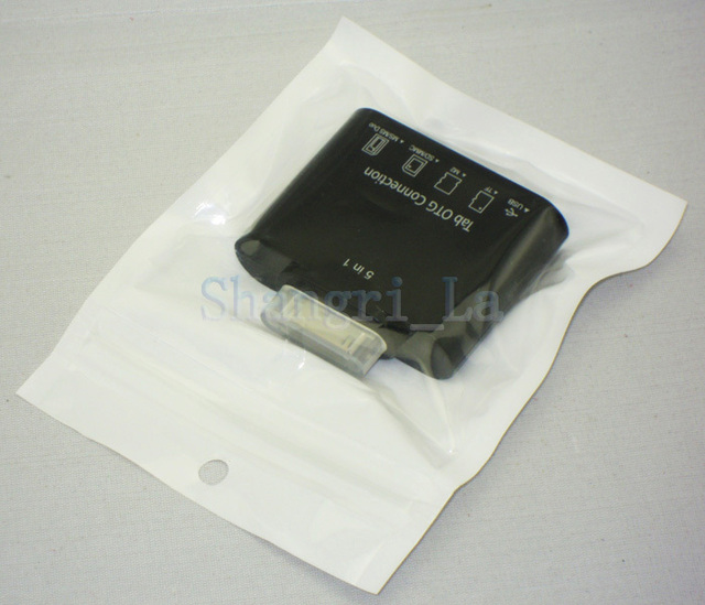 200pcs/lot Camera Connection Kit 5 IN 1 for Samsung Galaxy Tab DHL free shipping