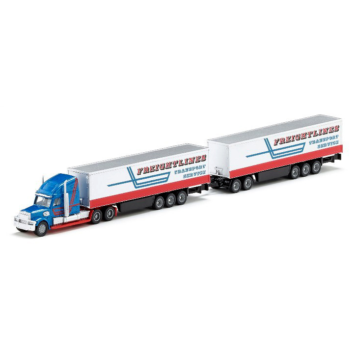 Siku 1806 Road Train container transporter American truck 1:87 alloy metal model car toy gift collection(China (Mainland))