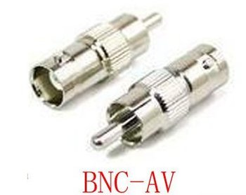 WholeSale-100pc BNC female to RCA male Connector  COAXIAL ADAPTER
