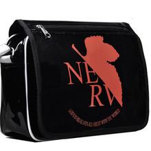 NEW Style Neon Genesis Evangelion EVA Anime Patent Leather Shoulder Bag Cartoon COS Messenger Crossbody Bags