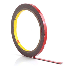 Brand New and High quality 3M Genuine Automotive Acrylic Plus Double Sided Attachment Tape 6mm(China (Mainland))
