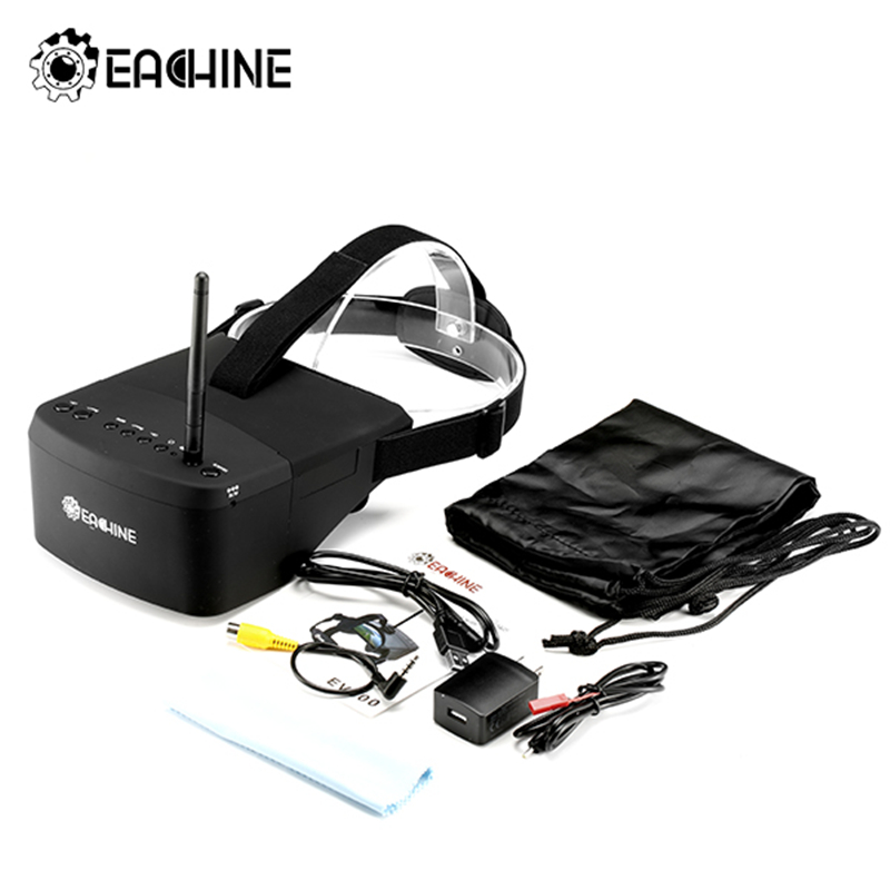 New Arrival Eachine EV800 5 Inches 800x480 FPV Video Goggles 5.8G 40CH Raceband Auto-Searching Build In Battery(China (Mainland))