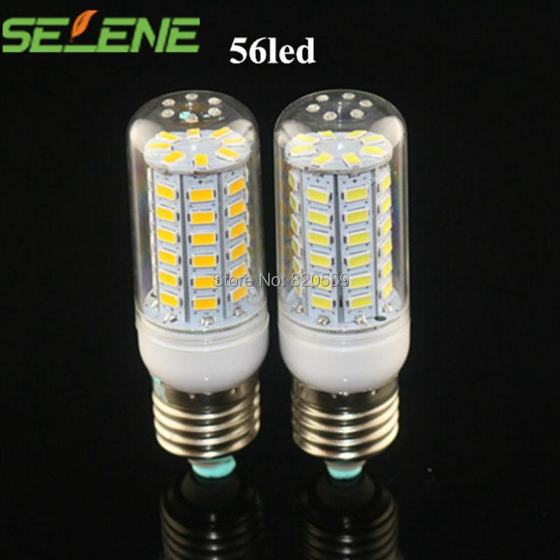 Гаджет  5Pcs/Lot E27 SMD5730 AC220V-240V led corn bulb E27 18W 56LED 5730 Warm white /white lamp,5730SMD led lighting free shipping None Свет и освещение