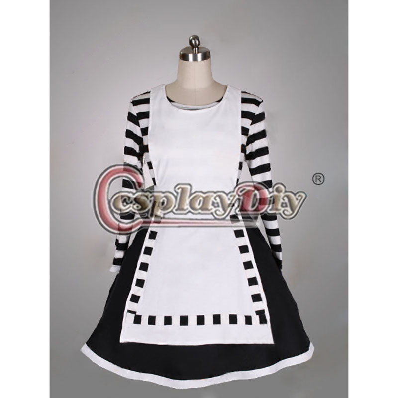 Alice Madness Returns Cosplay Costume Real World Dress For Adult Women Dance Party Custom Made D0616Одежда и ак�е��уары<br><br><br>Aliexpress