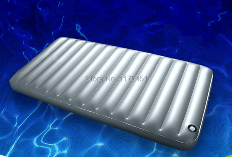 100 190 PVC Inflatable water bed Mattress Air bed Single