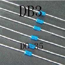 DB3 DIAC trigger row with a line of blue pipe DO-35(China (Mainland))