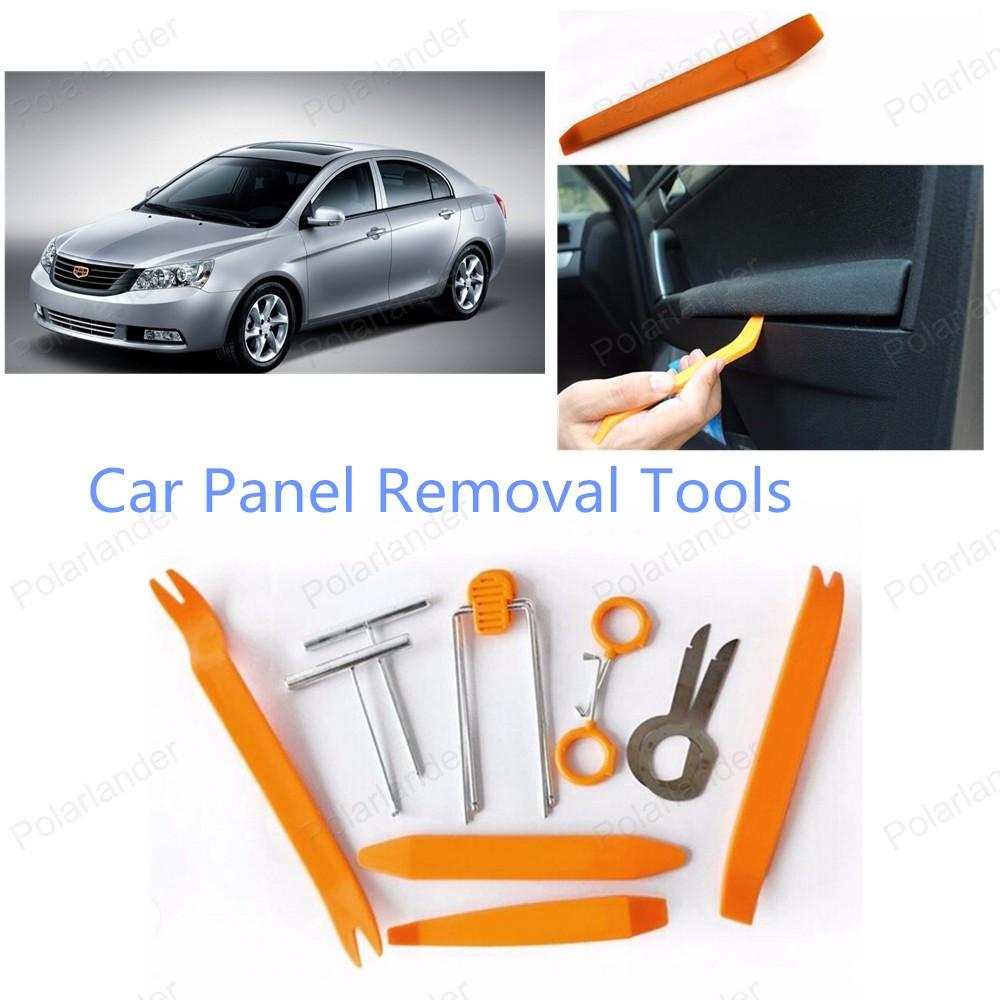 Лучшие продажи 12 шт./компл. ремонт автомобилей комплект инструментов автомобиля средство для удаления панели комплект инструментов
