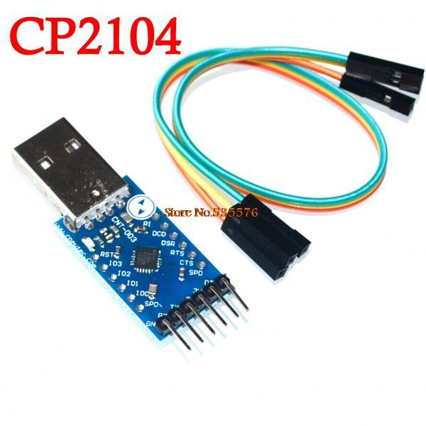 Электронные компоненты 5pcs/CP2104 CP2102 USB 2.0 UART TTL 6PIN , CP210 freeshipping usb 2 0 to ttl uart 6pin module cp2102 10pcs lot
