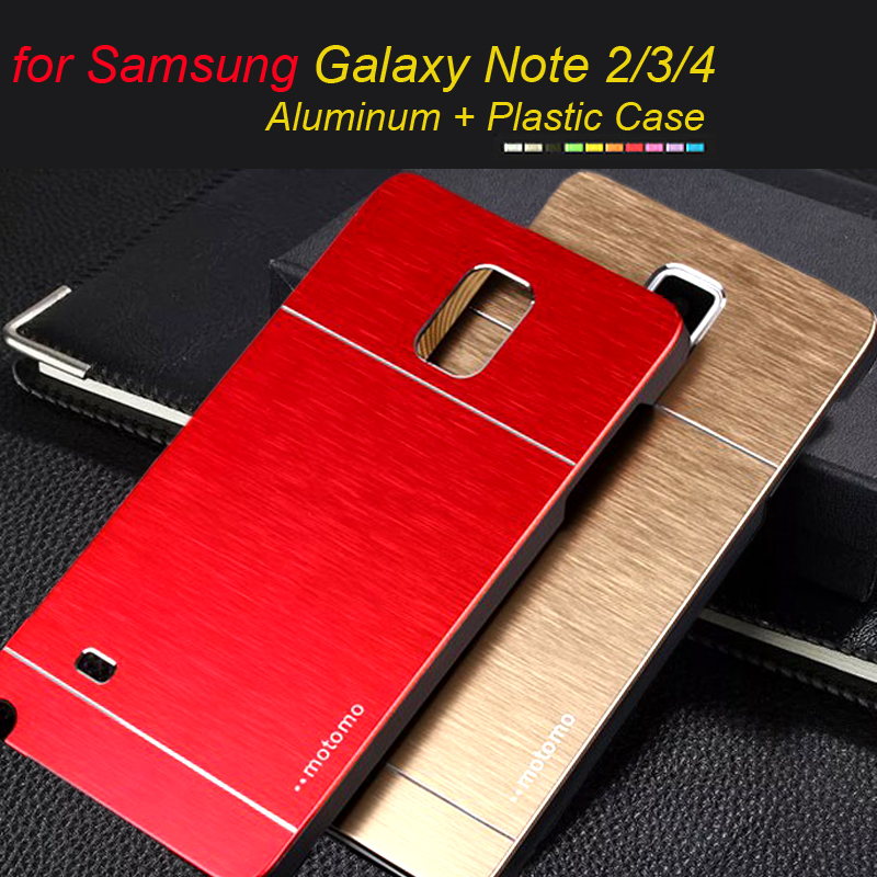 Phone Case For Samsung Galaxy Note 4 3 2 Aluminum Burshed ...