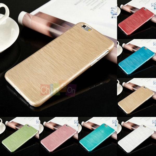 Fashion Design Wiredrawing Protector Shell Plastic Cover Phonr Case iPhone 6 Plus 5.5 inch - Chineon Tech store