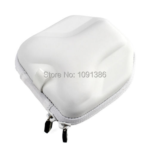 New White Protective PVC Camera Bag Travel Carry Case for GoPro HD Hero 4 1 2 3 3+(China (Mainland))