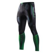 Sıska Sweatpants erkekler için sıkıştırma pantolon erkekler moda tayt erkekler Jogger erkekler 3D fitness pantolonları Superman ElasticTrousers(China)