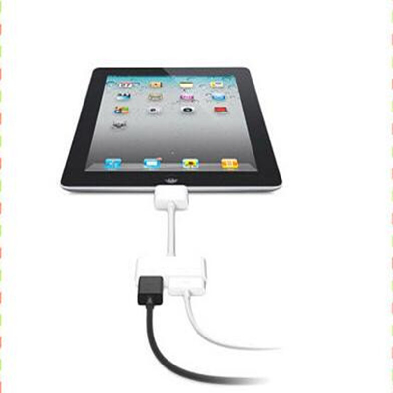 New style Micro hot !!!! AV HDMI Adapter cable For iPod Touch for iPhone 4 4G for iPad 2 for iPad2(China (Mainland))