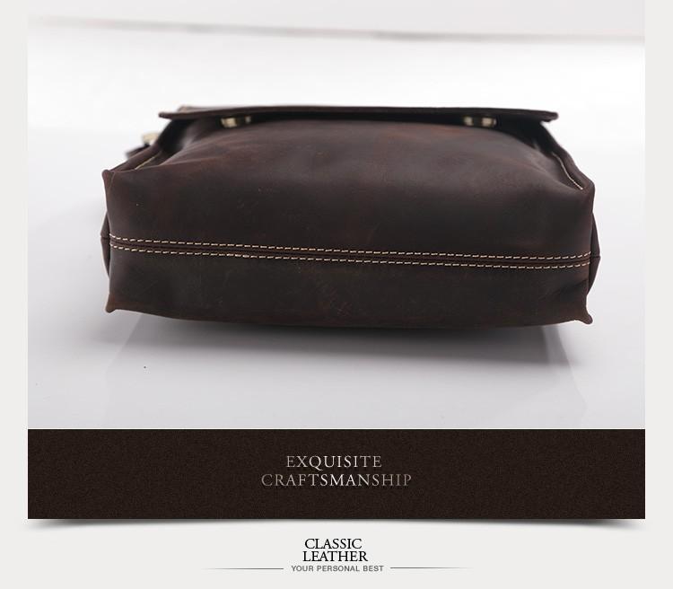 ซื้อ Teemzone-ผู้ชายขายร้อนบ้าม้ากระเป๋าหนังแท้Messengerถุงแล็ปท็อปไหล่กระเป๋าพนังกระเป๋าMessengerกระเป๋าJ30
