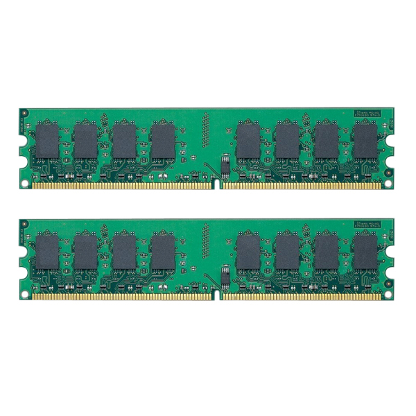 Kit of 2 KVR800D2N6/2G ,DDR2 800MHz 2GB X 2,Super Speed Memoria Ram for All Motherboard Desktop Computer Dual Channel(China (Mainland))