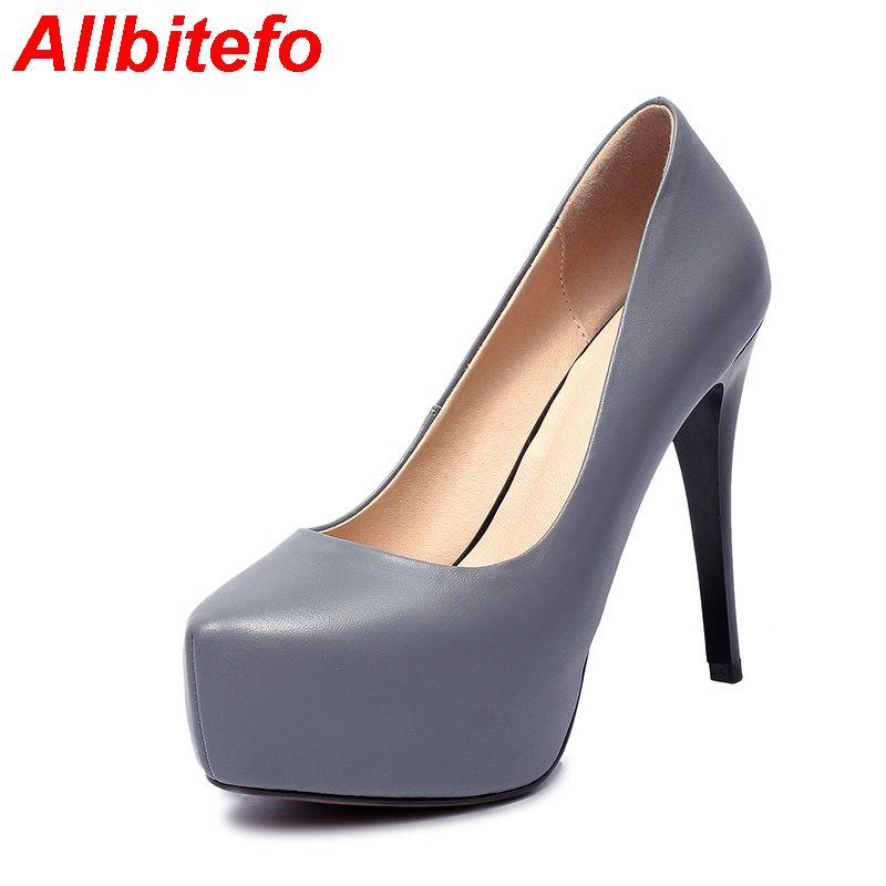 Здесь можно купить   arrival genunie leahter pointed toe platform sexy high heel party shoes High quality office ladies shoes ladies shoes  Обувь