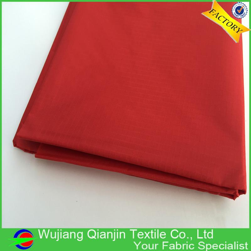 High quality 100% nylon red color ripstop nylon kite fabric(China (Mainland))