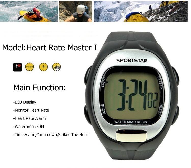 Sportstar сердечного ритма мастер я спорт работает часы без груди пояс