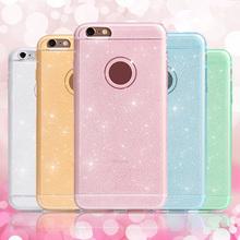 Для iPhone чехол 6 роскошные побрякушки блеск красочные ультра тонкий мягкий гель тпу сверкающих чехол для коке iPhone 5S 5/6 6 S / 6 плюс 6 S плюс