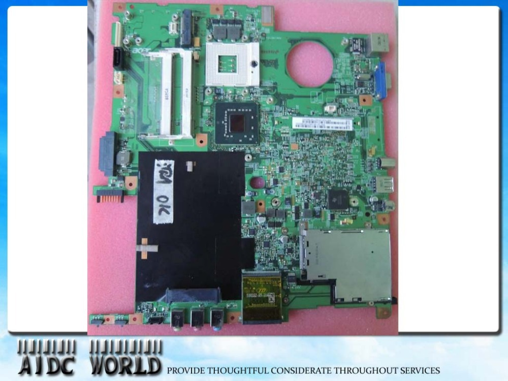 Фотография LAPTOP Motherboard FOR ACER Extensa 5220 5620 MB.TMW01.001  COLUMBIA MB 48.4T301.01T 100% TESTED GOOD