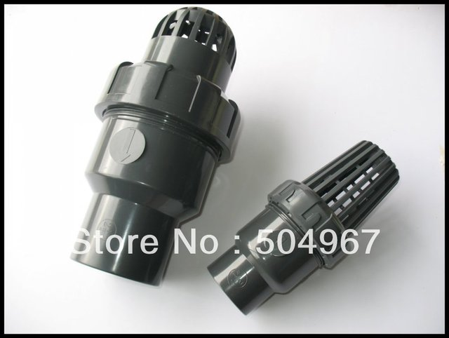 "3"" pvc foot valves"