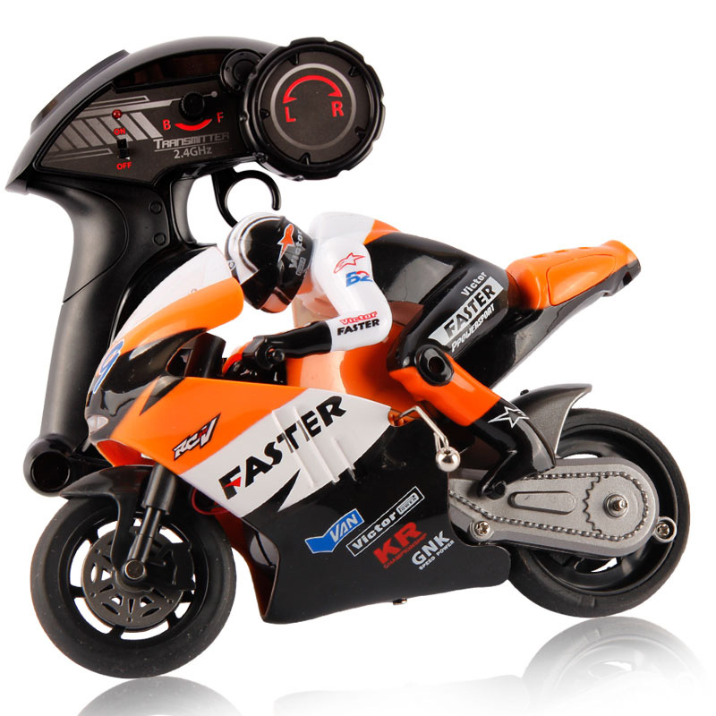 Original JXD 806 Remote Control RC Motorcycle 1:10 Scale 2.4Ghz 4 Channel for Children Built-in Gyroscope Kids Boy Toy Gift(China (Mainland))