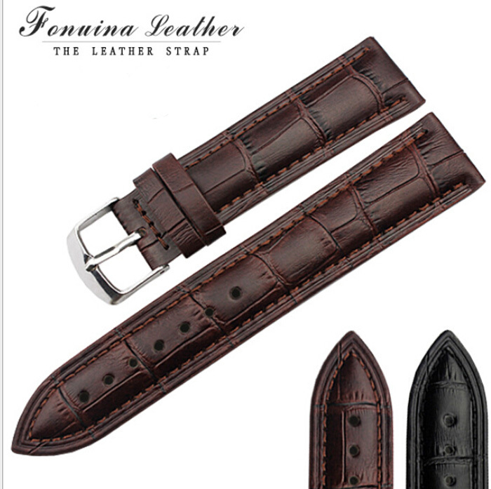 durable genuine leather watch strap for men ampwomen genuine