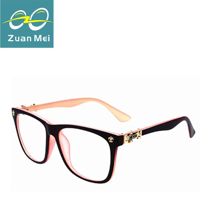 Glasses Frame Logo : Fashion Optical Reading eyeglasses cross logo frame women ...