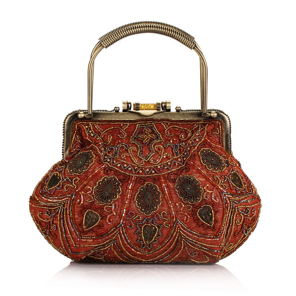 2014 Beaded bag Indian style restoring ancient ways is the fashion bag lady bag Ruili female package  ladys bags freeshipping<br><br>Aliexpress