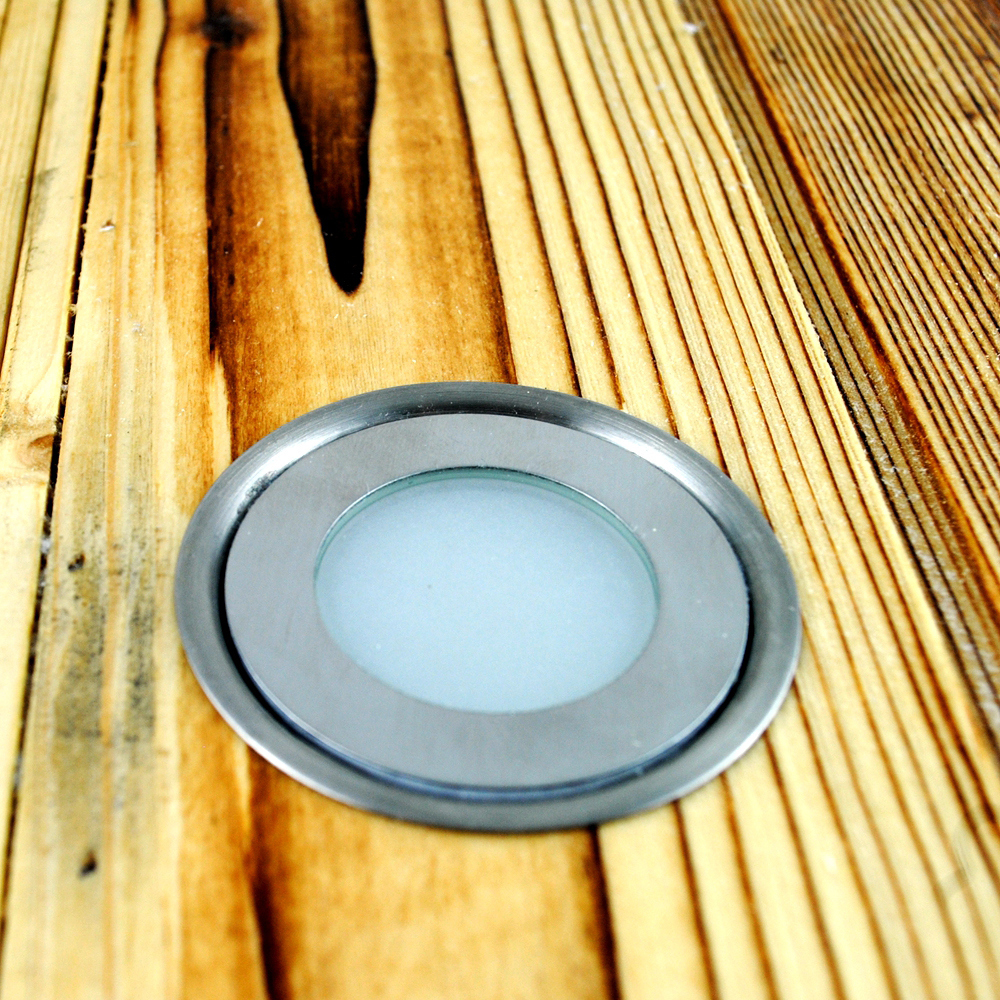 Low Voltage 12V 0.5W Buried Lighting Lamp LED Bulb Spot Light for Outdoor Garden/Park/Building Decoration Round 9mm Super Thin(China (Mainland))