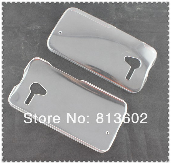 X phone Crystal Case,Clear Plastic PC Crystal Skin Case Cover for Motorola X Phone XT1060Via Free DHL(China (Mainland))