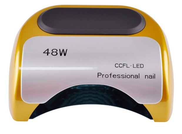 48W Nail Dryer for nail Polish UV Gel fast dry CCFL LED + UV lamp Nail tools with automatic sensor Salon Beauty Equipment(China (Mainland))