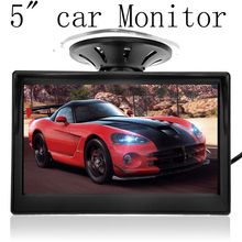 "5"" High Resolution HD 800*480 Car TFT LCD Monitor Car Electronics Screen 2ch Video with Car Rearview Cameras Equipment(China (Mainland))"
