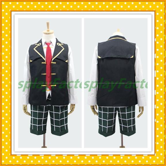 Фотография Halloween anime costumes Custom Made Pandora Heart Discount Oates Boy Fullset Costume Free Shipping