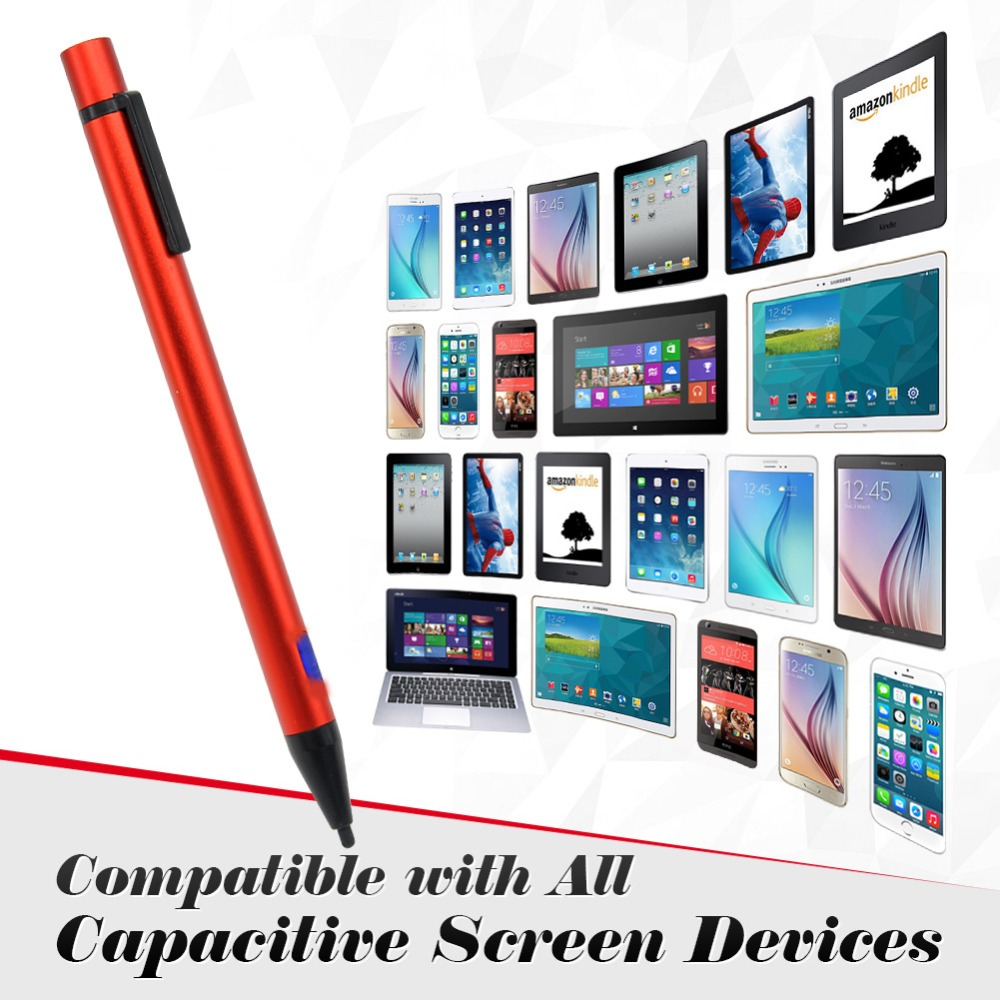 Active Stylus Pen for iPhone 6 6S for Ipad Tablet PC Smart phone Universal Screen Touch Pen Use for Bussiness(China (Mainland))
