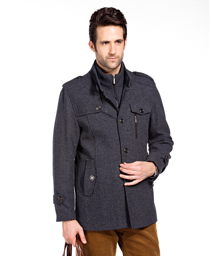 new brand jackets for men coats casual mens jacket woollen