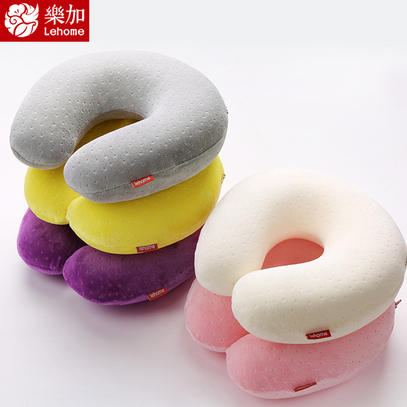 Travel U-shape pillow Memory cotton u pillows neck nap pillow(China (Mainland))