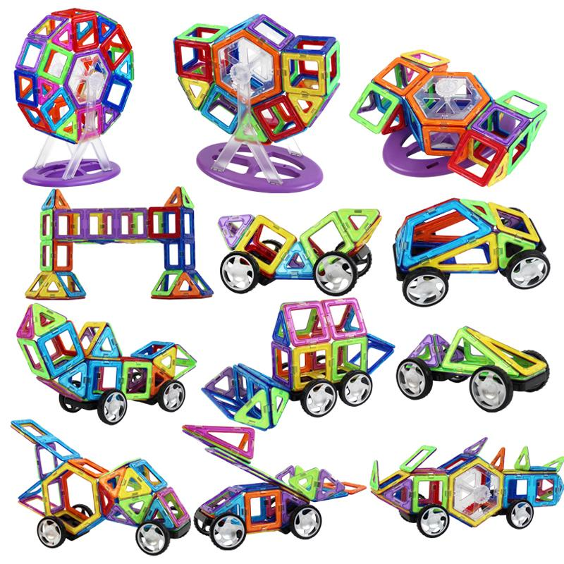 Magnetic 119/169/258 pcs Super Magformers kits Building Models Toy Enlighten Plastic Educational Toddlers UPS/DHL freeshipping<br><br>Aliexpress