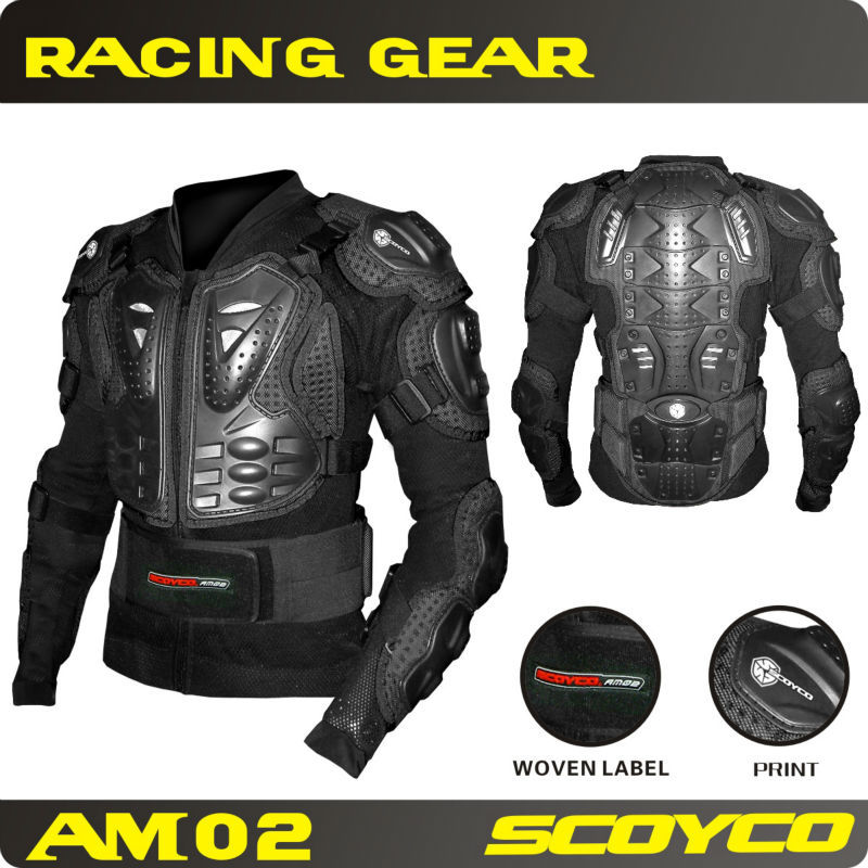 Protective Gears>>Jackets Scoyco Motorcycle Protective Motorbike Jacket Safety Armor Jackets Racing motocross armor body armor(China (Mainland))