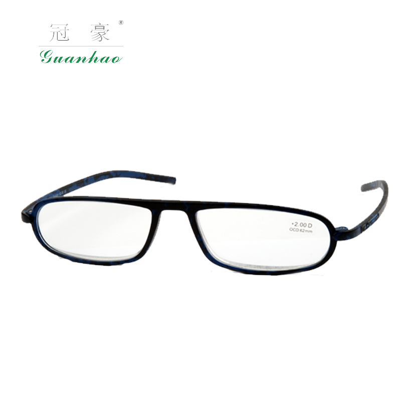 Latest Design TR909 GuanHao Reading Glasses Men And Women TR-90 Frame Light Reading Glasses 1.0 1.5 2.0 2.5(China (Mainland))