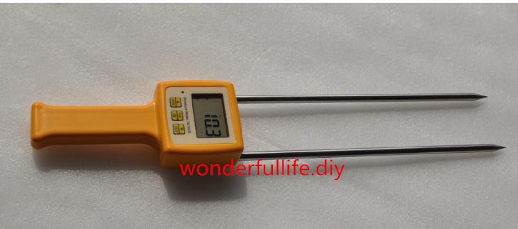 3 Pcs/Lot Corn,wheat,rice,bean,wheat flour tester 4 Digital LCD Grain moisture meter   range:5-35% hygrometer