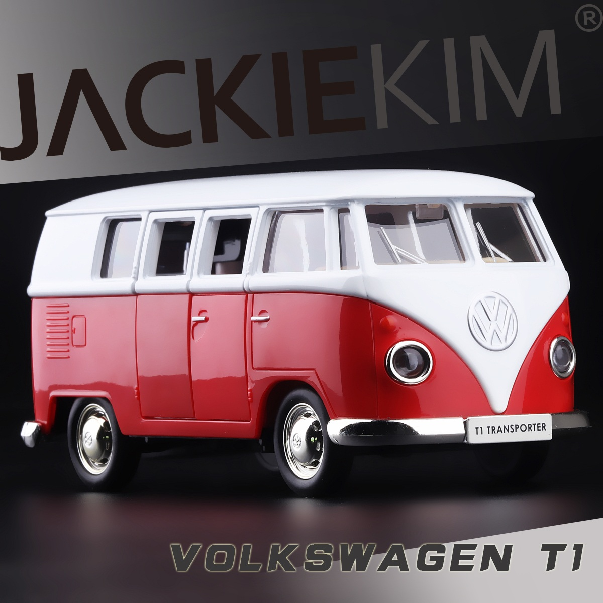 5 Inches volkswagen VW T1 Classical Bus MPV Open door Pull Back Alloy Diecast Models Toy Best Gift For Children Free Shipping(China (Mainland))