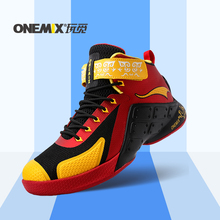 ONEMIX new arrival mens top quailty sport shoes 2016 basketball shoes waterproof males athletic Shoes, wholesale US7-12