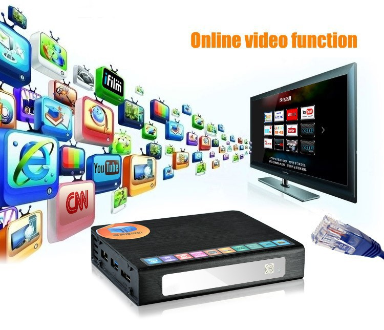 Egreat R6S 3D Full HD 1080p HDMI Android 2.2 LAN 100Mbps eSATA Media Player FREE SHIPPING(China (Mainland))