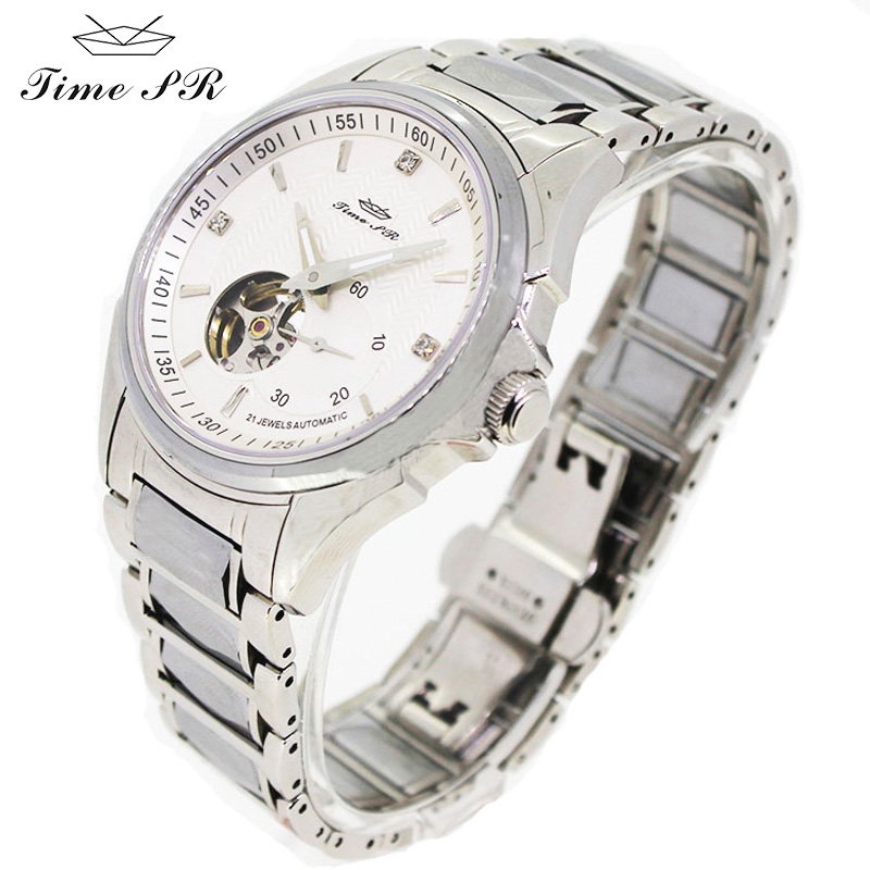 JIME PR mens watches top brand luxury mechanical watches Sapphire Crystal Water Resistant relogio luxury men's watches A3002G(China (Mainland))