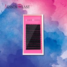 Arison all Size 1 trays J B C D Curl natural Eyelashes extension, mink eyelashes,individual eyelash,fake false eyelashes(China (Mainland))