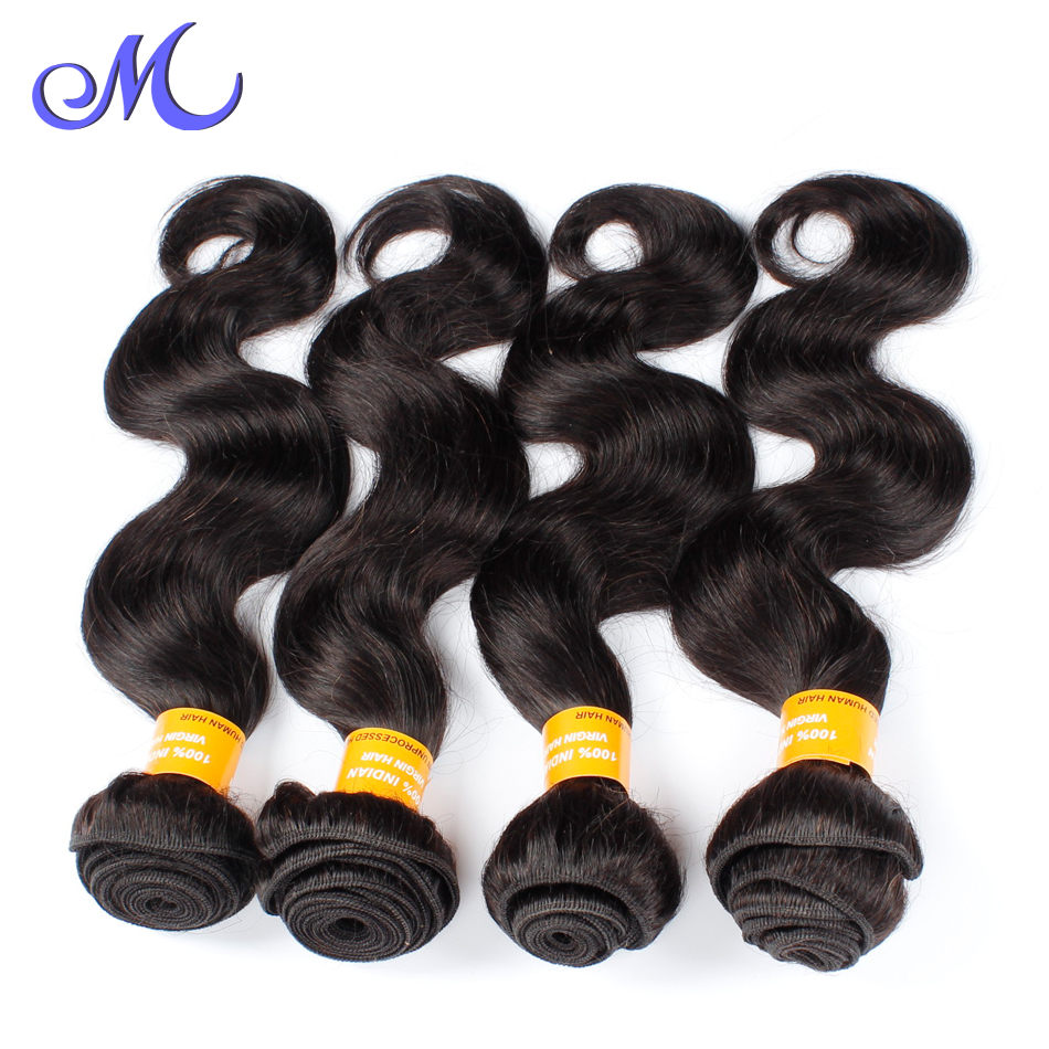 Indian Remy Hair Bundles Queen Hair Indian Body Wave 4 Bundles 10-30 Mix Length Natural Hair No Tangle Free Shipping Via DHL<br><br>Aliexpress